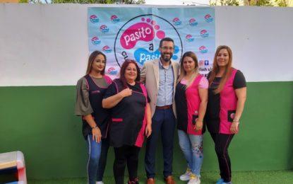 """Juan Franco conoce las instalaciones de la guardería """"Pasito a Pasito"""""""