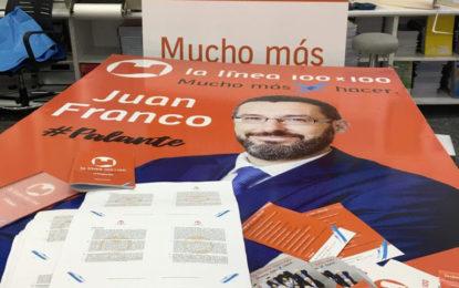El partido de Juan Franco presentará el sábado su programa electoral y celebrará una jornada festiva para los más pequeños de La Línea