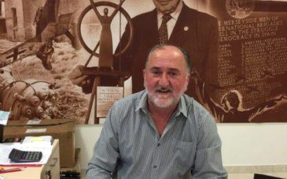 Fabian Picardo alaba el trabajo de Victor Ochello en la retirada del sindicalista