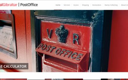 Presentación de la nueva web de la Royal Gibraltar Post Office
