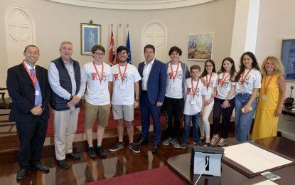 La Voz de los Jóvenes se reúne con el Ministro Principal, Fabian Picardo