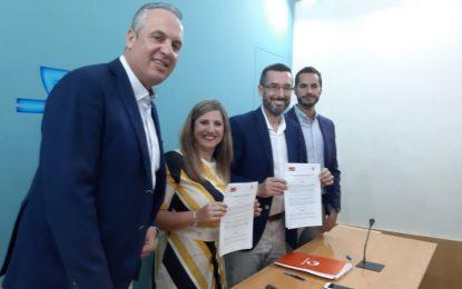 El acuerdo entre La Línea 100×100 y el PSOE-A para Diputación y Mancomunidad recoge compromisos e inversiones muy importantes para la ciudad