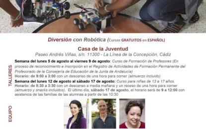La Embajada de EE.UU., el Ayuntamiento de La Línea de la Concepción, la Fundación Secretariado del Gitano y el IES Mar de Poniente promueven la formación de niñas en materia de tecnología