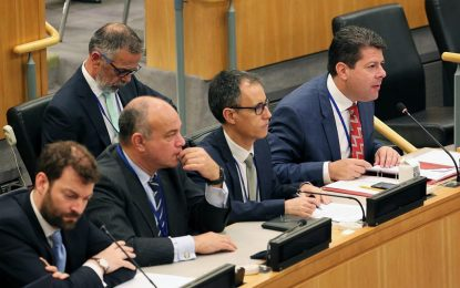 Picardo insiste ante el C24 de la ONU en que Gibraltar espera la descolonización según el precepto de la autodeterminación