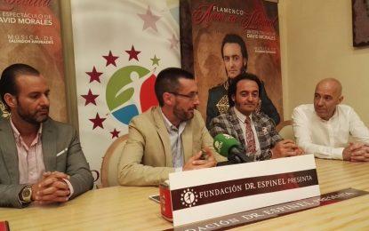 """David Morales presentará en La Línea  """"Amor en libertad"""", la historia de amor entre Simón Bolívar y Manuela Sáenz, con el patrocinio de Clínicas Espinel"""