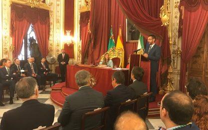 Juan Franco y Mario Fernández toman posesión del acta de diputados provinciales por La Línea 100×100 (VIDEO INTEGRO DEL ACTO)