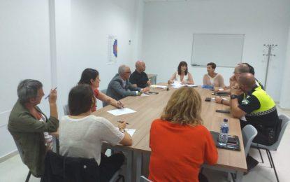 La nueva concejal de Igualdad, Zuleica Molina, participa en la reunión de la mesa técnica contra la violencia de género