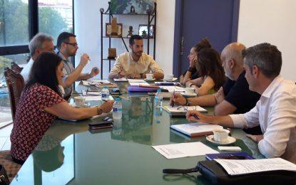 El Área de Promoción Sociocultural analiza una estrategia conjunta de eventos con la participación de distintas delegaciones