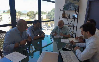 Los nuevos responsables de las concejalías de Deportes y Urbanismo conocen el avance del Plan de Instalaciones Deportivas