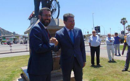 El alcalde de La Línea, Juan Franco, y Mario Fernández mantendrán reunión mañana con Fabian Picardo