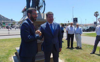 Fabian Picardo y Juan Franco conmemoran en La Línea los 50 años del cierre de la frontera