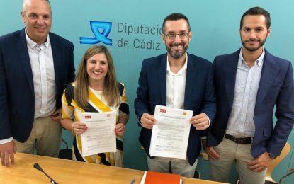 Firmado el acuerdo con el PSOE para que La Línea 100×100 entre en el gobierno de la Diputación Provincial de Cádiz  y en el de la Mancomunidad del Campo de Gibraltar