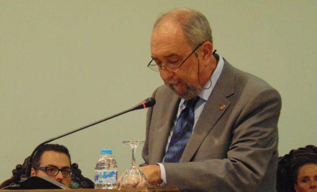 Fernando Aragón recrea la historia de la ciudad a través de las vivencias de su familia, en el discurso del 149 Aniversario de La Línea (galería de fotos)