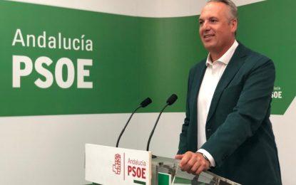 """Ruiz Boix: """"Moreno Bonilla debería dejar de preocuparse  por la vida interna del PSOE y arreglar la suya que en la provincia de Cádiz son ya la cuarta fuerza"""""""