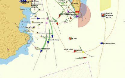 El Gobierno de Gibraltar detalla la carga del Grace 1, que entró a aguas gibraltareñas para aprovisionarse