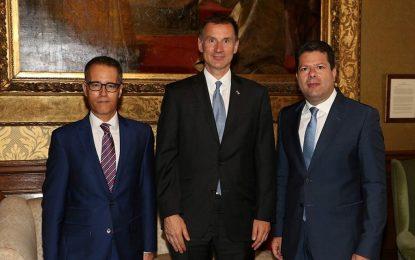 Tras la reunión con May, Picardo y García se reúnen con Jeremy Hunt y Boris Johnson