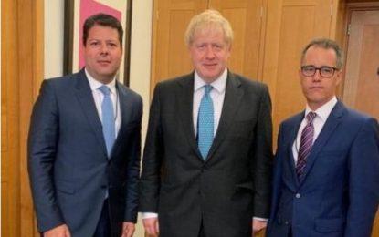 El Ministro Principal de Gibraltar felicita a Boris Johnson por su nombramiento como Primer Ministro británico