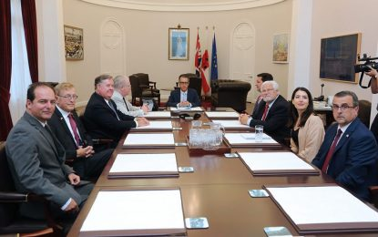 El Viceministro Principal, Joseph García, organiza la visita a Gibraltar de una delegación de Congresistas estadounidenses en estrecha colaboración con el Reino Unido