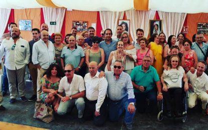 El PP hizo esta tarde su almuerzo de Feria en la Caseta Sin Comentario