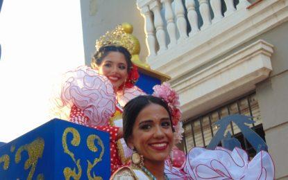 La Cabalgata de la Feria de La Línea congrega a numeroso público en las calles (con galería de fotos)