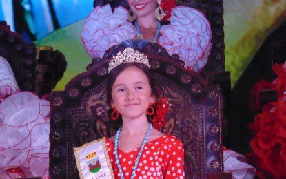 Gema Jiménez fue coronada Reina Infantil de la Feria de La Línea (con galería de fotos)