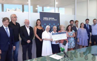 La obra Social de La Caixa entrega casi 34.000 euros a nueve entidades linenses para el desarrollo de proyectos asistenciales