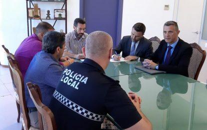 Franco destaca la labor de la Policía Local frente a determinadas conductas incivicas frente al Covid-19