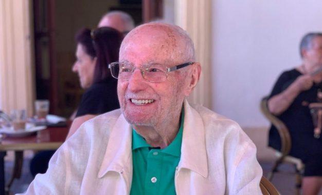Ha fallecido a la edad de 100 años Don José Manuel Cuadros Pérez, abuelo de Alvaro Cuadros
