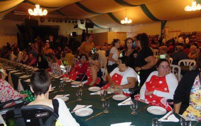Cena de Fegadi en la Caseta Municipal