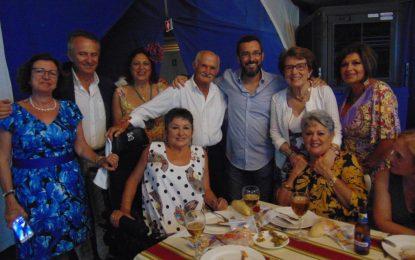 Asansull celebró su cena de convivencia en la caseta de Caza y Pesca