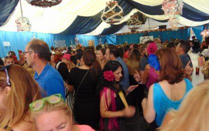 Gran ambiente en Turí Turí con el Día de la Mujer en el Recinto Ferial