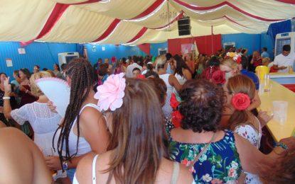 'La Lola', con Guillermo Ruiz Rube, una de las casetas punteras de la Feria