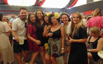 La Mala Hora amenizó el Día de la Mujer en la Caseta El Encuentro