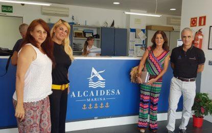 Mañana, V limpieza de fondos Alcaidesa Marina y recogida de material reutilizable de la playa de Levante para  los talleres de educación ambiental de AcorrucArte