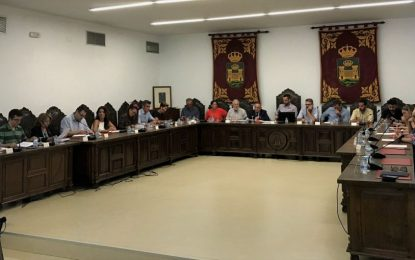 El presupuesto municipal centrará el pleno ordinario de julio