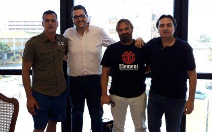 Azuaga inicia con Ruíz Galán su ronda de contactos con empresarios linenses para abrir nuevas vías de colaboración