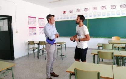 El concejal de Educación visita todos los centros educativos de Primaria