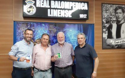 Juan Franco y Helenio Fernández  renuevan sus abonos  a la Real Balompédica Linense