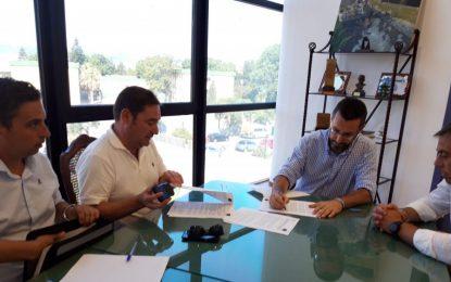Firmado el contrato con la empresa Martín Casillas para la segunda fase de las obras de peatonalización del centro urbano