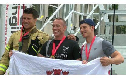 El bombero Matthew Coulthard se proclama por segunda vez Campeón Británico en la edición 2019 del exigente Campeonato de Bomberos