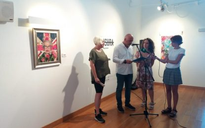 """Marga Guinea inaugura en Cádiz la exposición  creada para la Galería Manolo Alés """"Censura"""""""