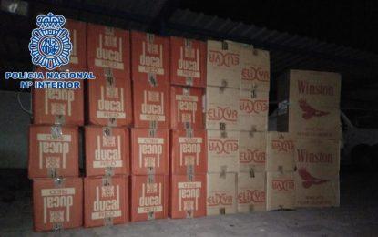 La Policía Nacional interviene en dos actuaciones realizadas en La Línea de la Concepción más de 15.000 cajetillas de tabaco de contrabando