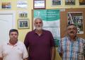 Vidal aborda con la subdelegación gaditana de Fútbol y la delegación de Árbitros los horarios de partidos para la temporada