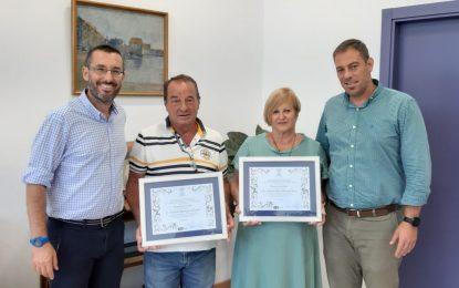 El ayuntamiento reconoce la trayectoria profesional de dos trabajadores municipales que llegan a la jubilación
