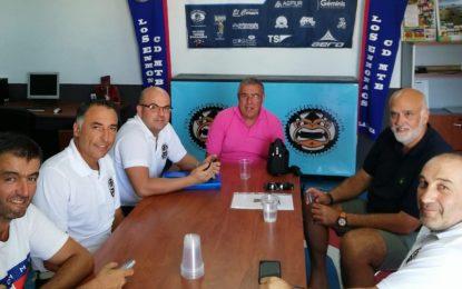 Vidal conoce las demandas e inquietudes del club Los Enmonaos