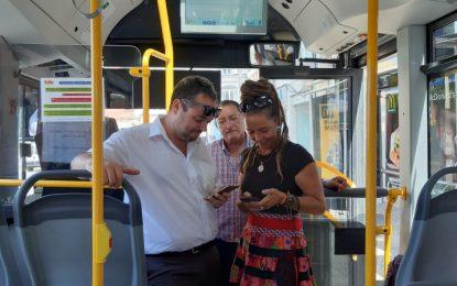 Los autobuses del servicio municipal de transporte urbano incorporan wifi gratis