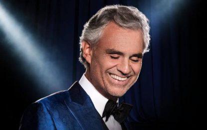 1800 entradas adicionales del concierto de Andrea Bocelli saldrán a la venta el lunes