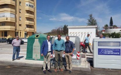 Iniciada la colocación de nuevo contenedores y el sistema de recogida bilateral de residuos en La Línea
