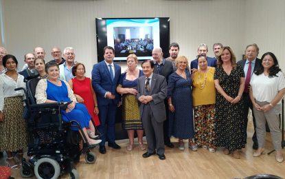 Brillante homenaje de Mar del Sur a la Fundación Alwani en Gibraltar