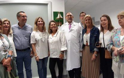 El Hospital de La Línea se une a la iniciativa 'La Campana de los sueños' para celebrar la superación del cáncer